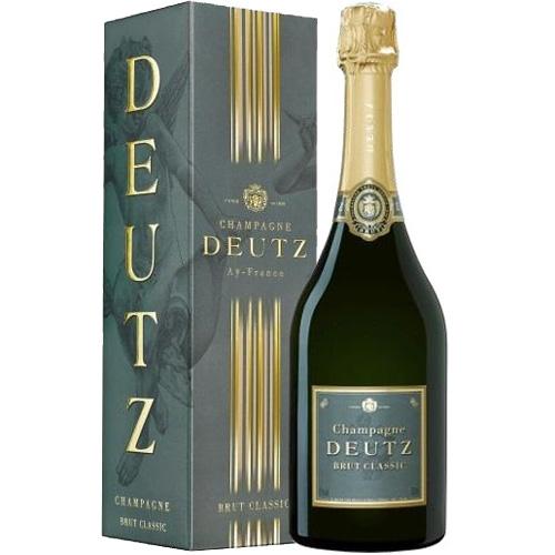 Champagne Deutz Brut Classic in cadeauverpakking 750M