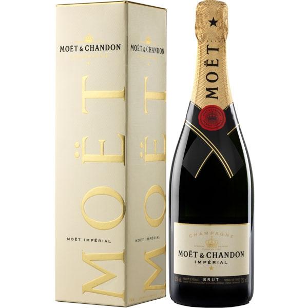 Champagne Moët & Chandon, Brut Impérial 750ML in geschenkverpakking