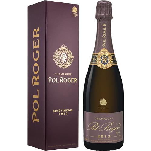 Champagne Pol Roger Rosé Vintage 2012 750ML in geschenkverpakking