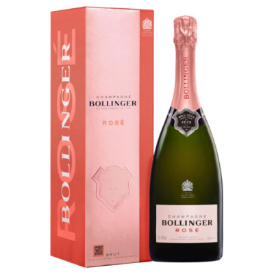 Bollinger Rosé in Geschenkverpakking