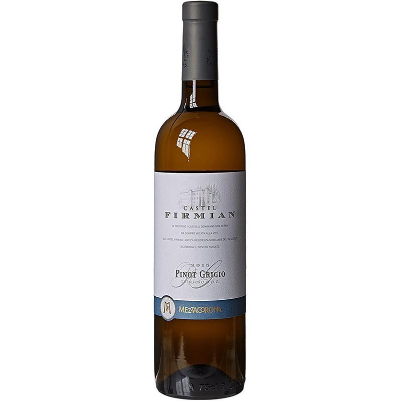 Witte wijn Pinot Grigio van Castel Firmian