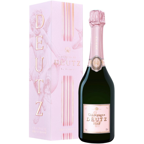 Champagne Deutz Rosé demi bouteille in cadeauverpakking 375ML