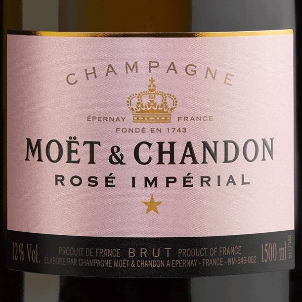 Champagne Moët & Chandon Rosé Impérial Magnum 1500ML