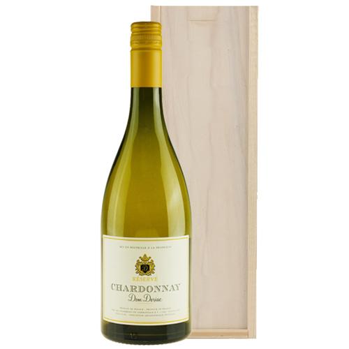 Chardonnay Réserve Dom Doriac in wijnkist