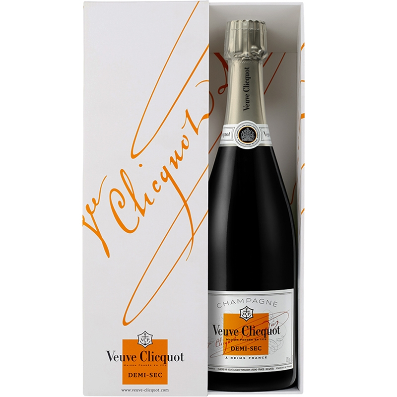 Champagne Veuve Clicquot Demi-Sec 75CL