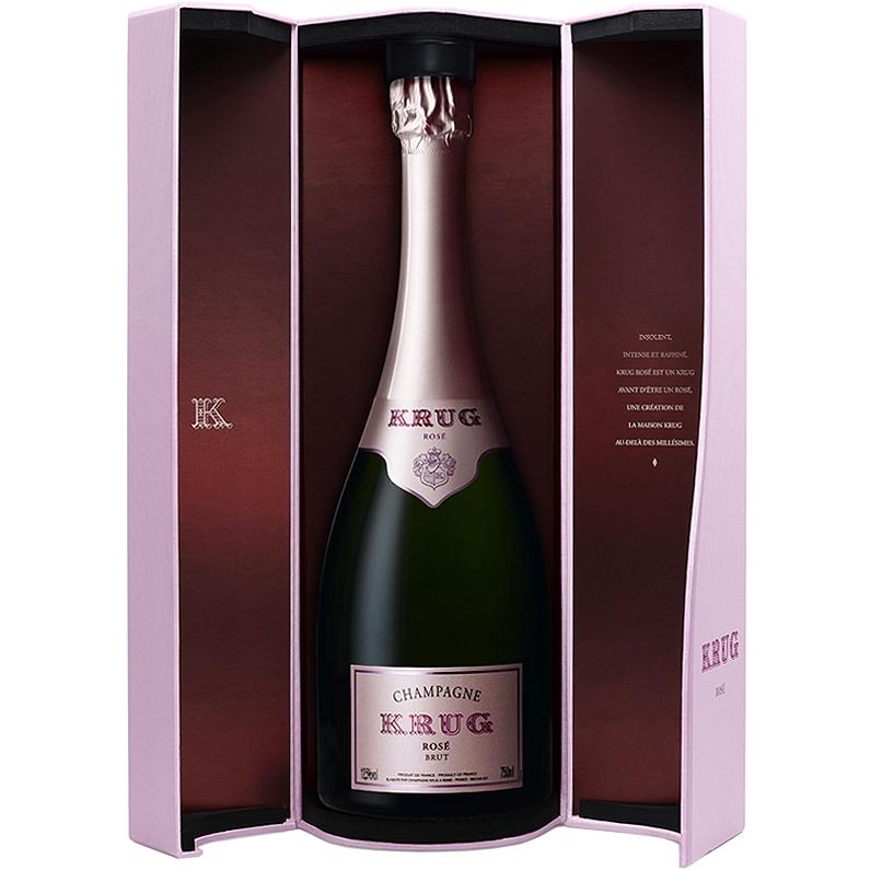 Champagne Krug Brut Rosé 75CL in Coffret