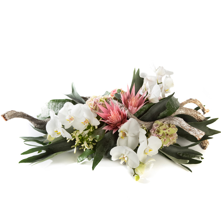 Rouwstuk met Orchidee