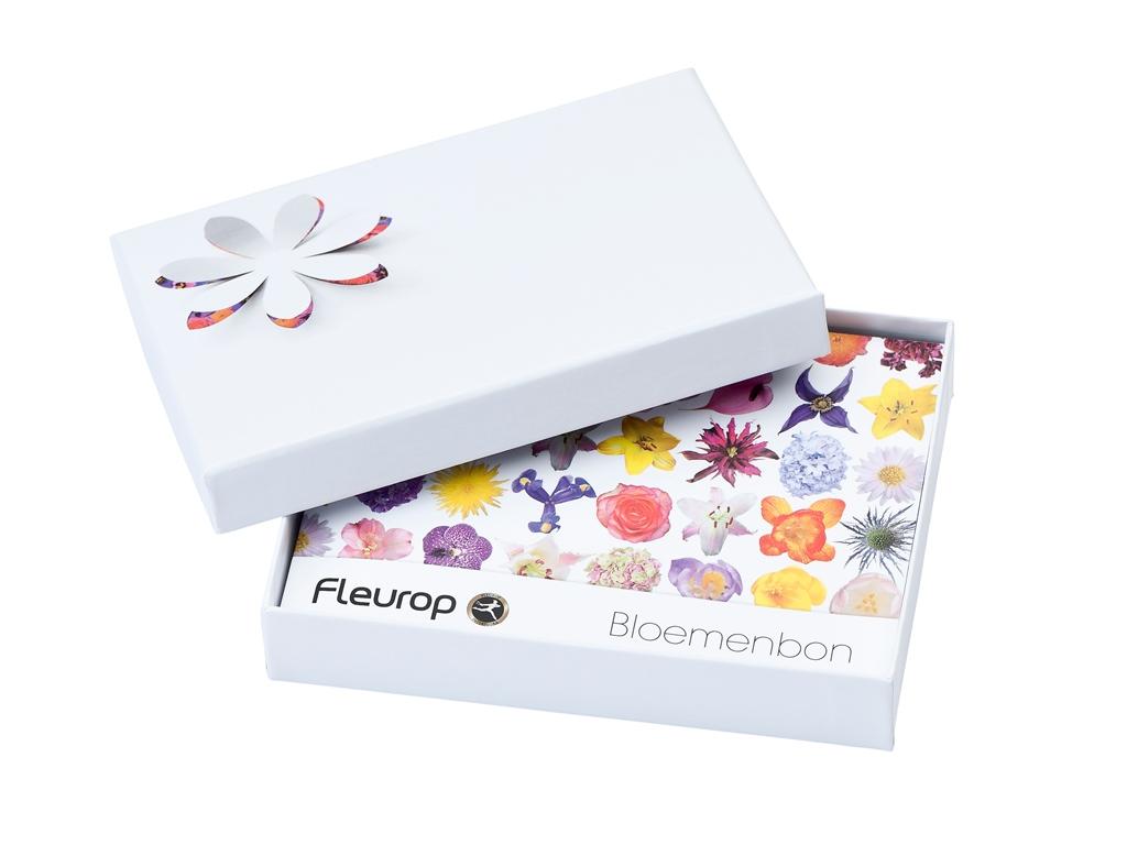 Fleurop Bloemenbon vanaf 10 tot  50 Euro