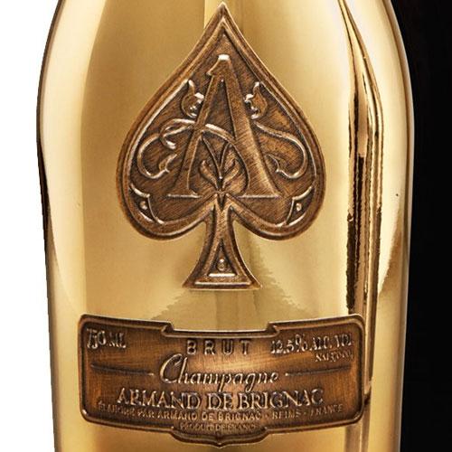 Champagne Armand de Brignac Brut Gold in luxe coffret 750ML