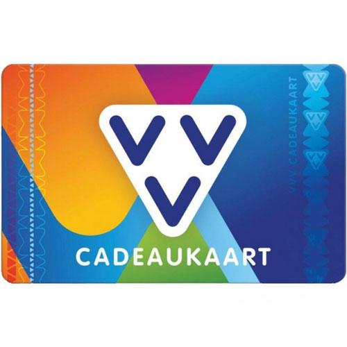 VVV Cadeaukaart van €10,- tot €150,-