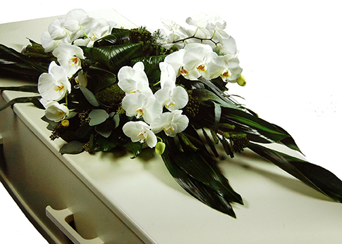 Kistbedekking Luxe met Orchidee