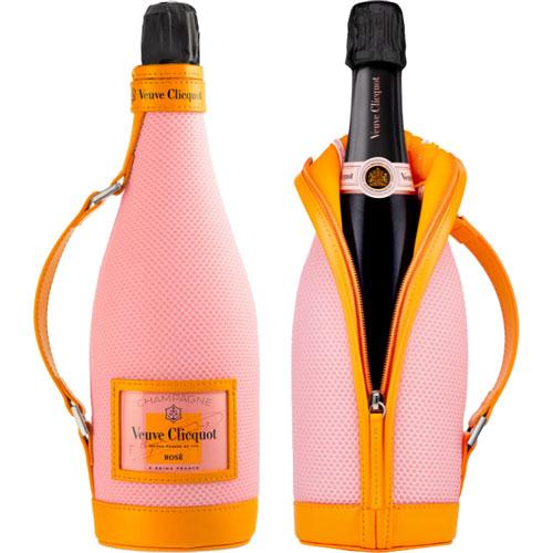 Veuve Clicquot Rosé Ice Jacket 750ML champagne met koeler