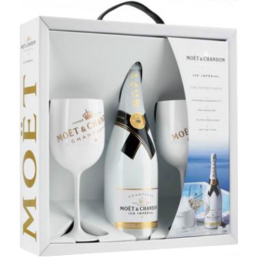 Moët & Chandon Ice Perfect Serve Geschenkbox met glazen