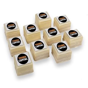 Cake Petit fours met logo