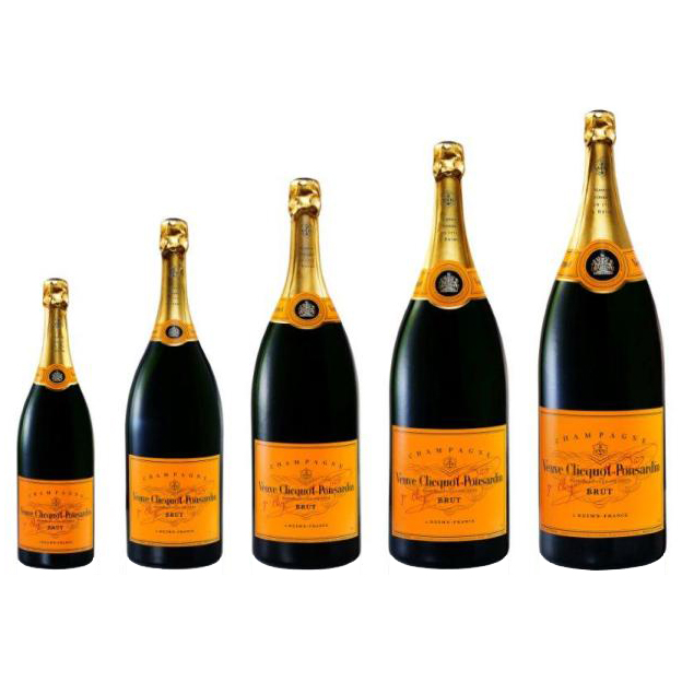 Veuve Clicquot Ponsardin Methusalem 600CL fles champagne