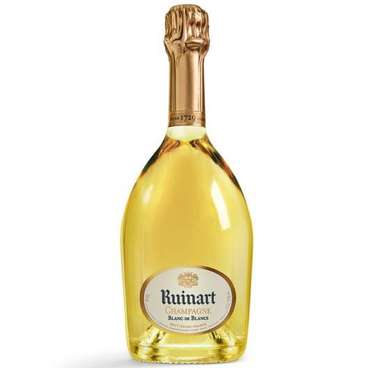 Champagne Ruinart Blanc de Blancs 75CL in Second Skin