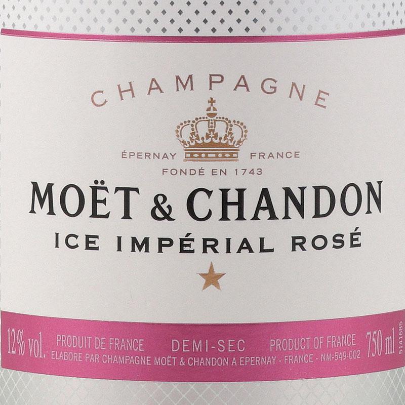 Moët & Chandon Ice Impérial Rosé Demi-Sec 750ML